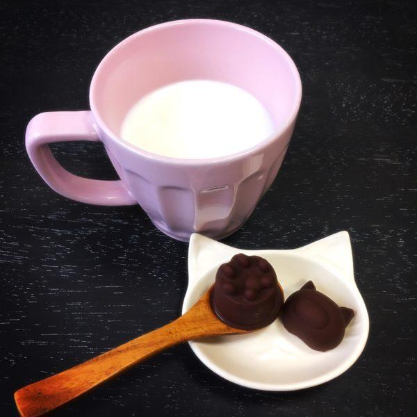 チョコっと とろけるホットミルク(ホットチョコレート)